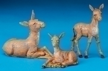 Fontanini 3 Pc Set Donkey Family * Nativity Village Collectible 51533 at Sears.com