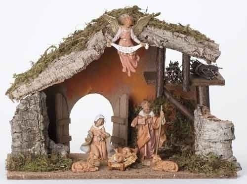 Fontanini 6 Pc Figure Set With Italian Stable * Nativity Village Collectible at Sears.com