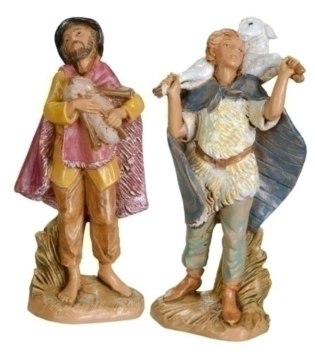 "Fontanini 2 Pc Set 3.5"" Gabriel And Josiah * Nativity Village Collectible 55013 at Sears.com"
