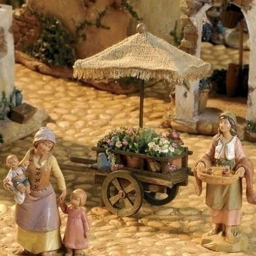 Fontanini Flower Cart * Nativity Village Collectible 55551 at Sears.com