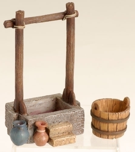 Fontanini 2 Pc Set Grape Press With Bucket * Nativity Village Collectible 59529 at Sears.com