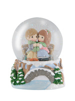Precious Moments Being With You Warms My Heart Snow Globe * 2012 Christmas Collectable PM at Sears.com