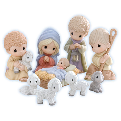 Precious Moments Come Let Us Adore Him Nativity Set * 2012 Christmas Collectable PM at Sears.com