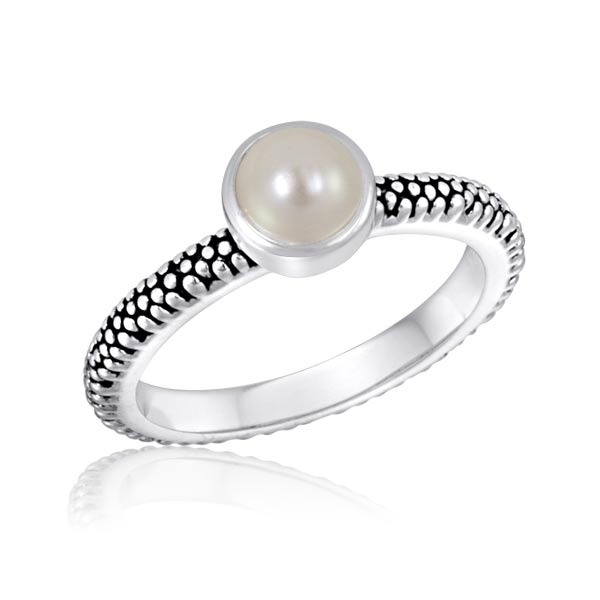 DaVinci Pearl Stack Ring  - Fashion Stackable Jewelry Statement STK9-DAV at Sears.com